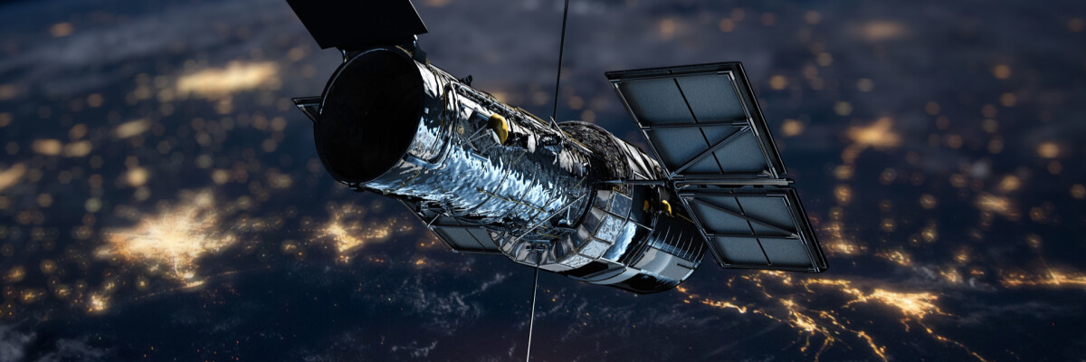 How space is being conquered. The history of the Hubble telescope and the research it has performed.