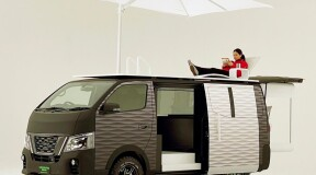 Nissan unveils the Caravan NV350 Office Pod on wheels