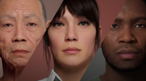 Realistic human characters are now being created directly in a browser