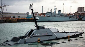 Autonomous boats have entered service in the UK